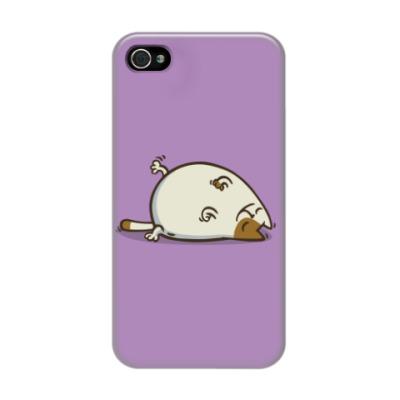 Чехол для iPhone 4/4s  Пятничный Котик №18