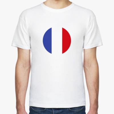 Футболка France, Франция Флаг