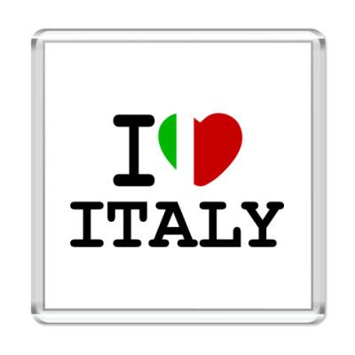 Магнит I Love Italy