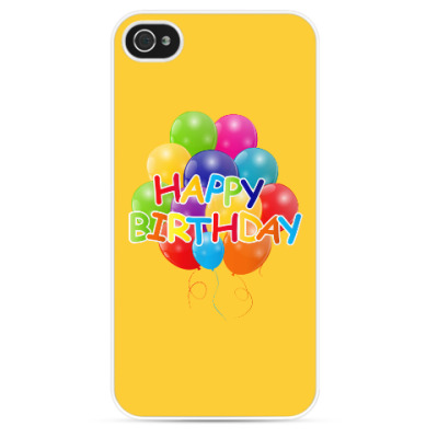 Чехол для iPhone Happy Birthday
