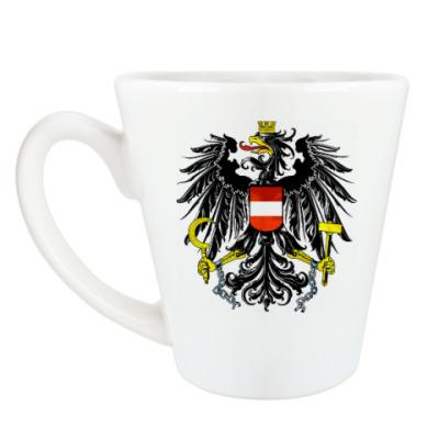 Чашка Латте Герб Австрии