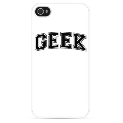 Чехол для iPhone Geek
