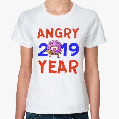 Классическая футболка ANGRY YEAR 2019