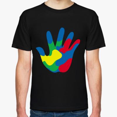 Футболка Отпечаток Руки
