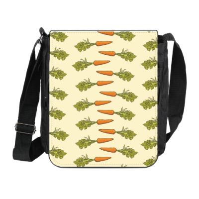 Сумка на плечо (мини-планшет) Морковки