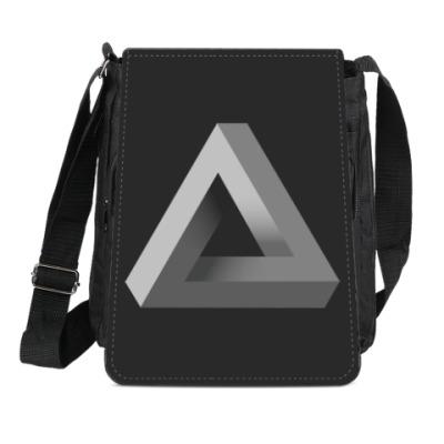 Сумка-планшет Невозможный Треугольник 3D