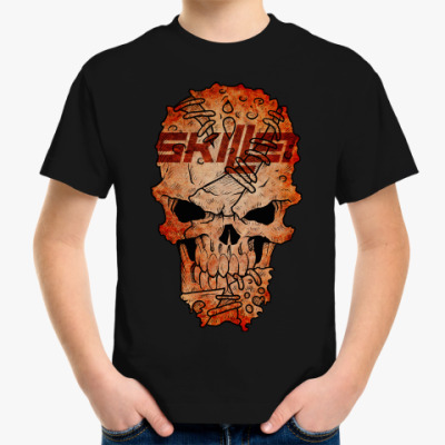 Детская футболка Skillet Skull