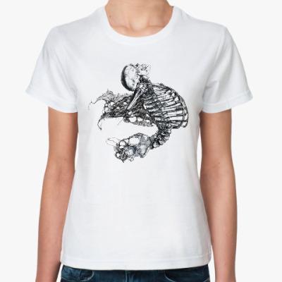 Классическая футболка Skeleton5