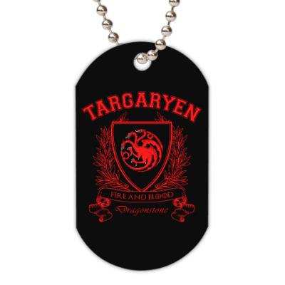 Жетон dog-tag House Targaryen