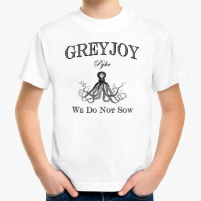 Детская футболка Greyjoy
