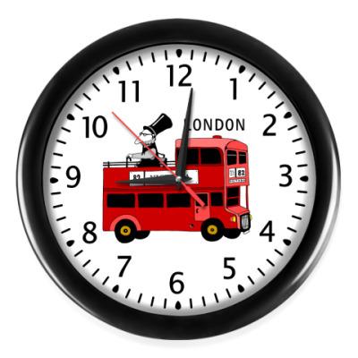 Настенные часы 'Автобус'