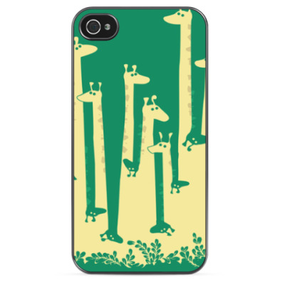 Чехол для iPhone Giraffes