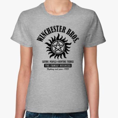 Женская футболка Winchester Brothers