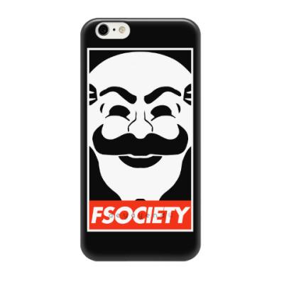 Чехол для iPhone 6/6s FSOCIETY