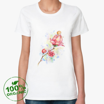 Женская футболка из органик-хлопка Рождение