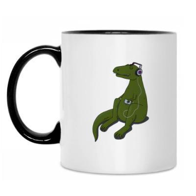 Кружка Тираннозавр