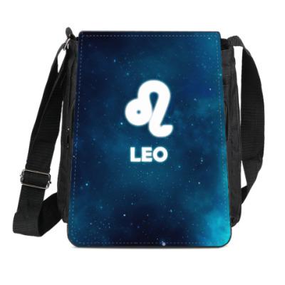 Сумка-планшет Знак зодиака. Лев