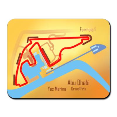 Коврик для мыши Формула 1 Абу Даби
