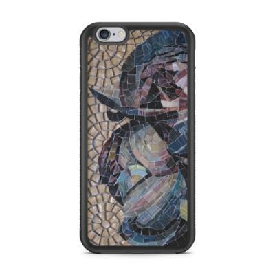 Чехол для iPhone Мозаика Пионы