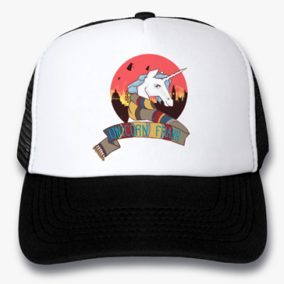 Кепка-тракер Рождественский Единорог в стиле Доктора Кто