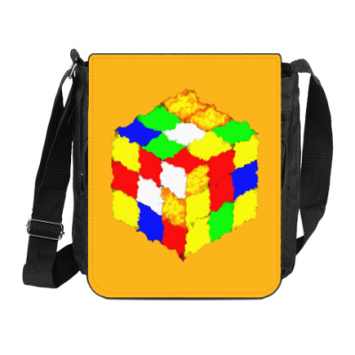 Сумка на плечо (мини-планшет) Кубик Рубика