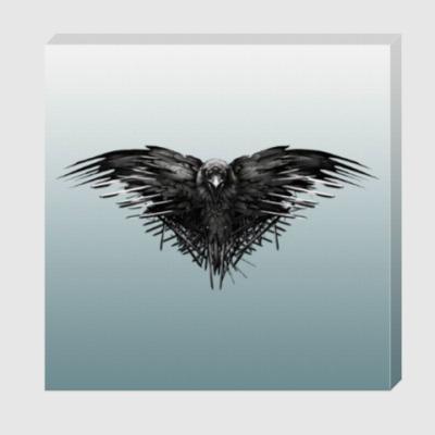 Холст Игра Престолов: Ворон