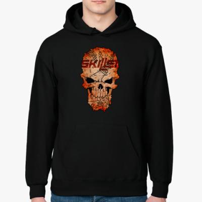 Толстовка худи Skillet Skull