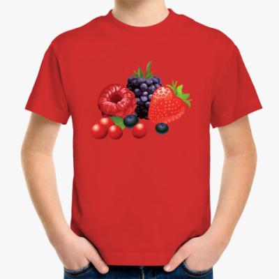 Детская футболка Ягоды
