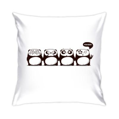 Подушка Kiss Panda