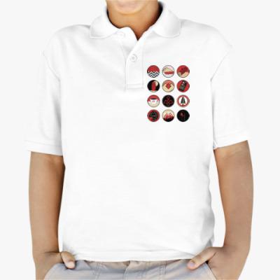Детская рубашка поло Сериал Твин Пикс Twin Peaks