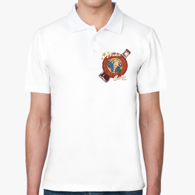 Рубашка поло Fallout Nuka Cola Vault Boy