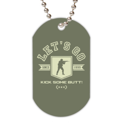 Жетон dog-tag Counter-Strike