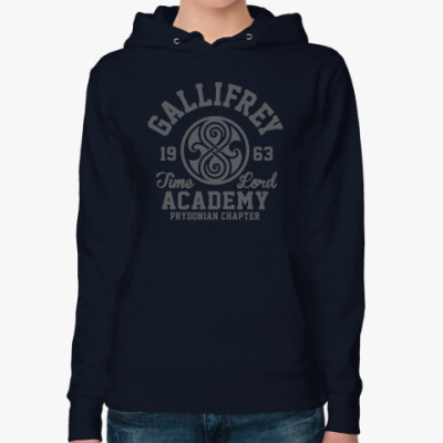 Женская толстовка худи Gallifrey Time Lord Academy