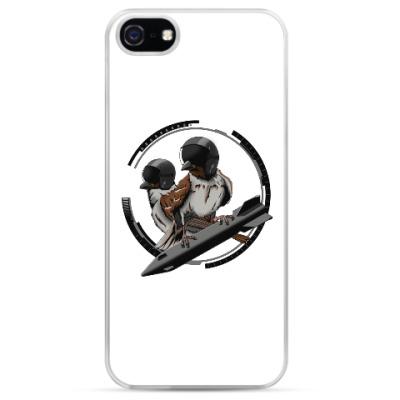 Чехол для iPhone Птицы воробьи-истребители