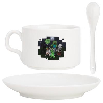 Кофейный набор Minecraft