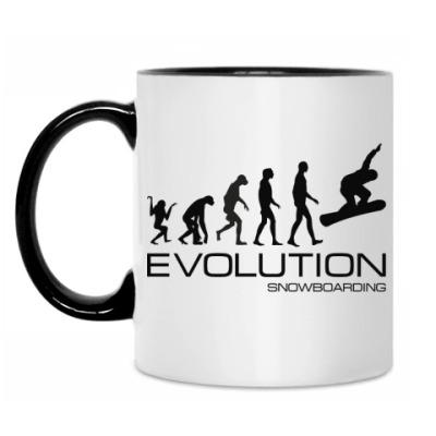 Кружка Evolution snowboarding