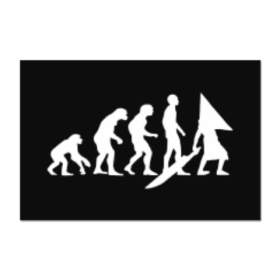 Наклейка (стикер) Pyramid Head Evolution
