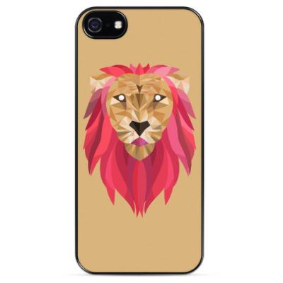 Чехол для iPhone Лев / Lion