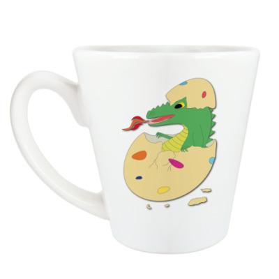 Чашка Латте 'Дракоша в яйце'