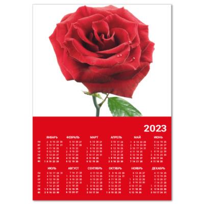 Календарь  A4 Роза*11