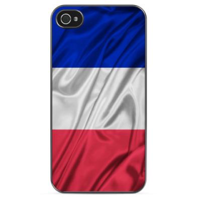 Чехол для iPhone Флаг Франции