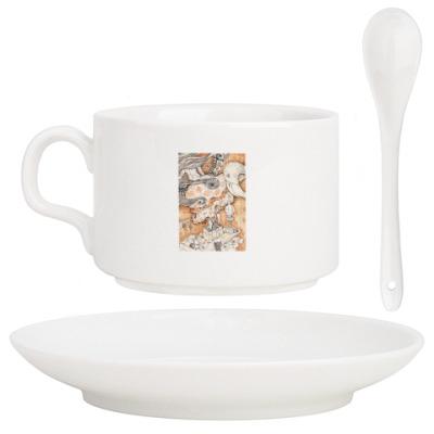 Кофейный набор  Алиса в Стране чудес