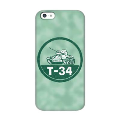 Чехол для iPhone 5c Танк Т-34