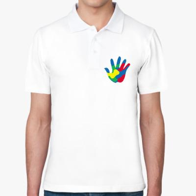 Рубашка поло Отпечаток Руки