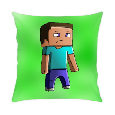 Подушка Minecraft Steve