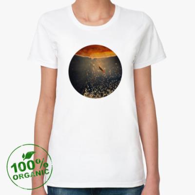 Женская футболка из органик-хлопка К солнцу