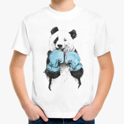 Детская футболка Панда боксер