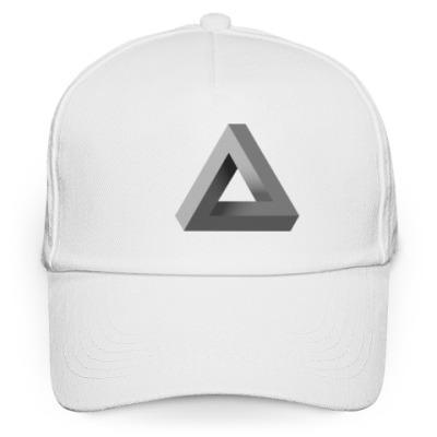 Кепка бейсболка Невозможный Треугольник 3D
