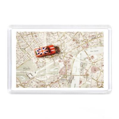 Магнит  'Карта Лондона'