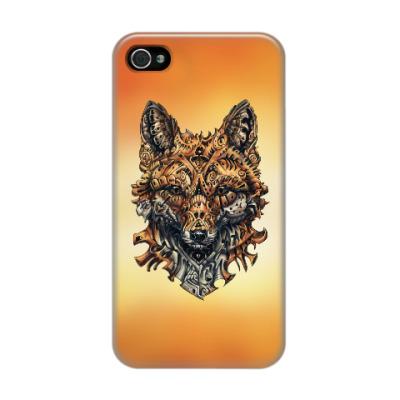 Чехол для iPhone 4/4s Mechanical Fox